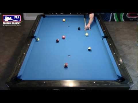 Bank Shots in Pool / Pocket Billiards / How To Make Bank Shots
