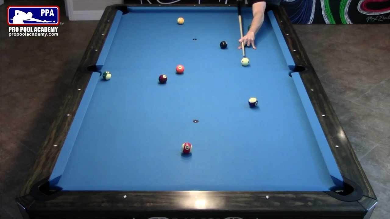 Bank Shots Demo On A 9 Foot Diamond Pool Table