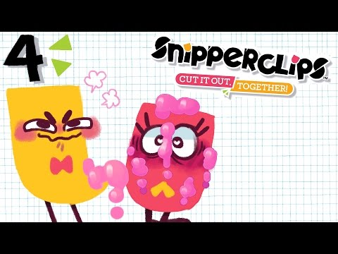 SHOOT YOUR GOO ALL OVER ME / Snipperclips / JaltoidGames