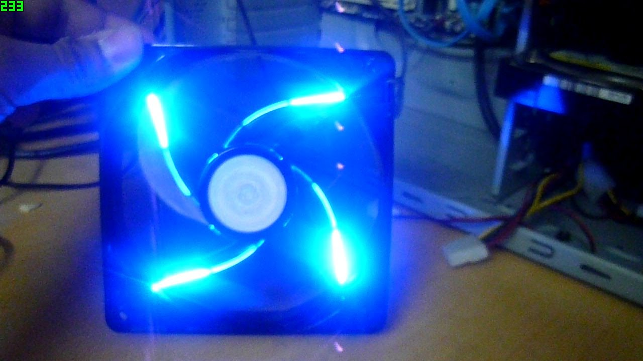 Cooler Master 90cfm Sickleflow 120 Blue Led Fan Unboxing