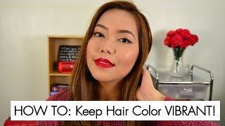 HOW TO: Keep Hair Color VIBRANT!
