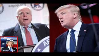 Repeat youtube video Right After Attacking the President, Trump Just HUMILIATED John McCain in the Best Way Possible!