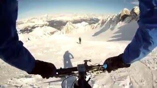 Bike-Alpinism MARMOLADA: from Cencenighe 802 to Punta Rocca 3.250 mt