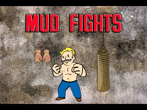 FALLOUT 4 - Wasteland Workshop DLC Mudfighting |