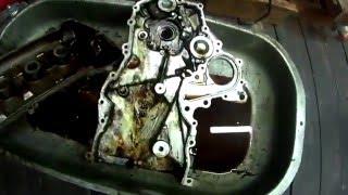 Toyota Fielder 1NZ-FE замена цепи ГРМ и маслосъемных колпачков Серия 2  (Сборка)