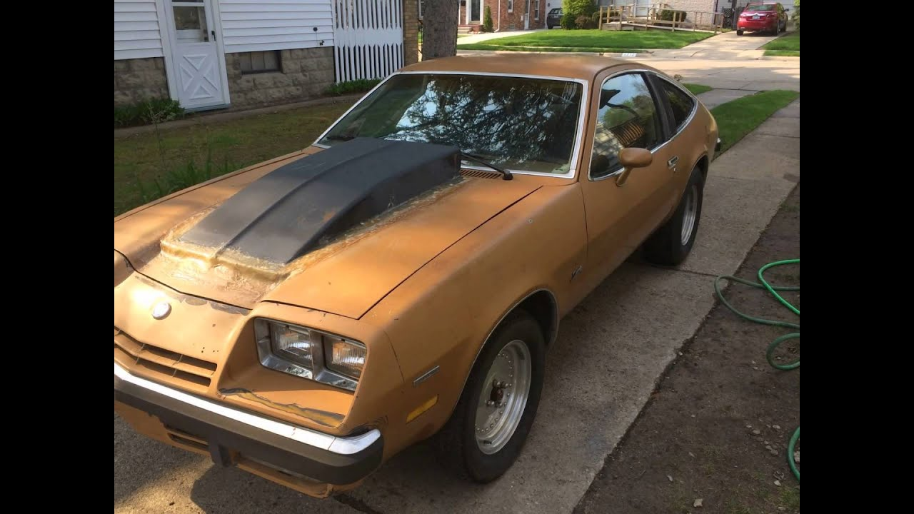 1977 Chvy Monza Spyder For Sale clean barn find!! - YouTube