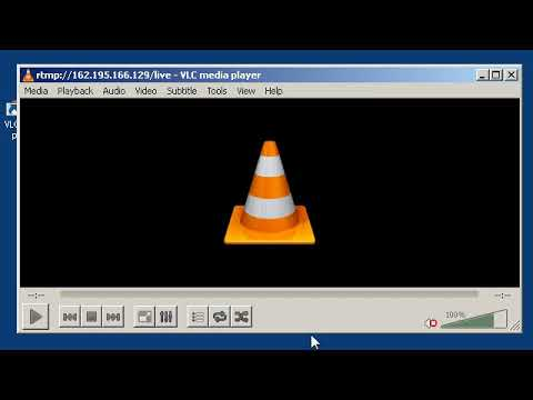 Watching an RTMP stream in VLC Media Player