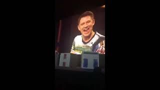 Антон Шастун и Павел Воля на презентации новых сезонов проектов ТНТ 19.10.17