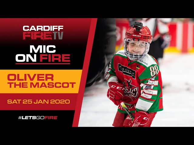 Mic on Fire: Oliver the Mascot 🏒🎤🔥
