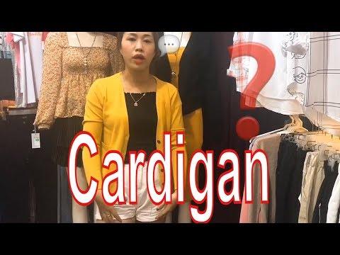 Áo Khoác Len Cardigan áo Len Nữ Thu đông I Trang Vũ TV #191
