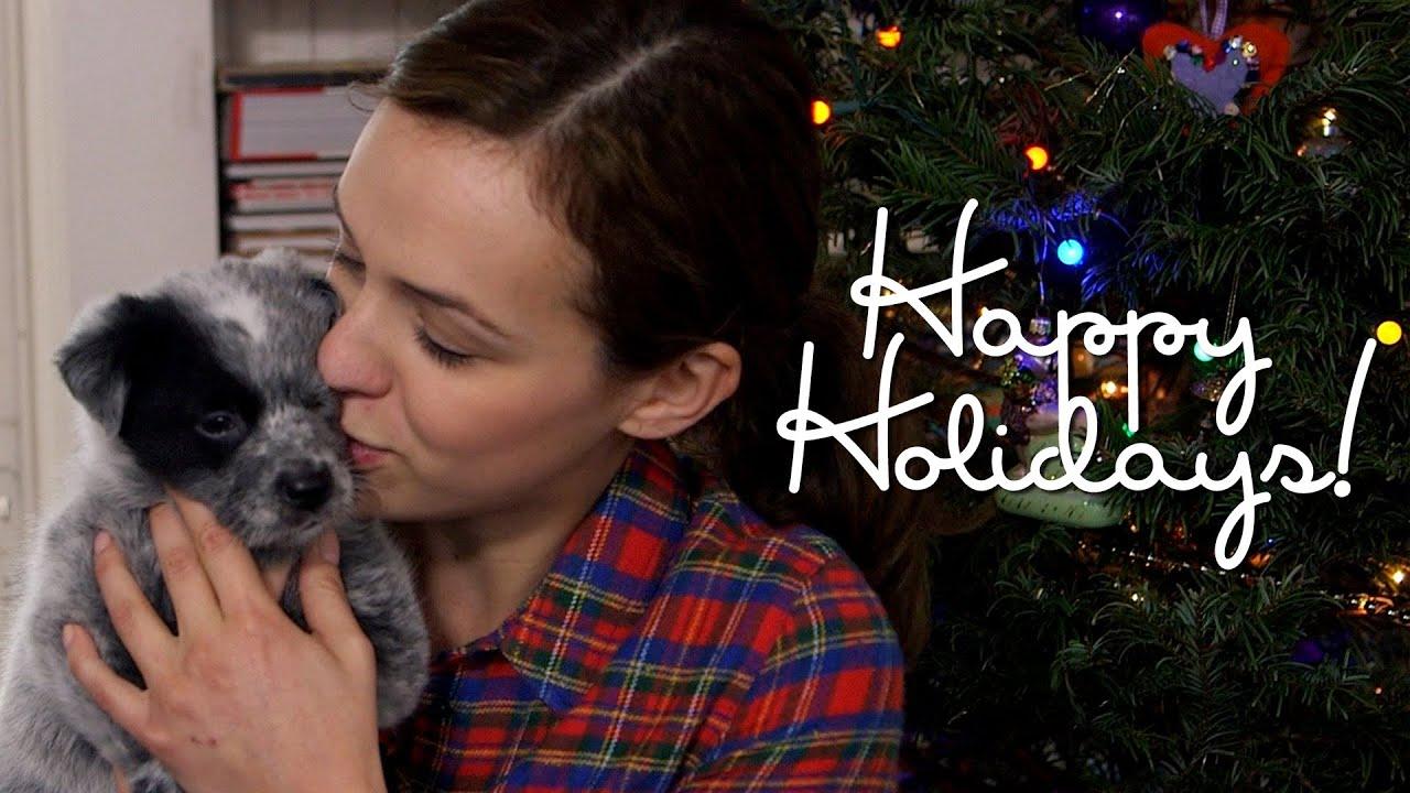 Happy Holidays My Christmas Present Vlog Youtube