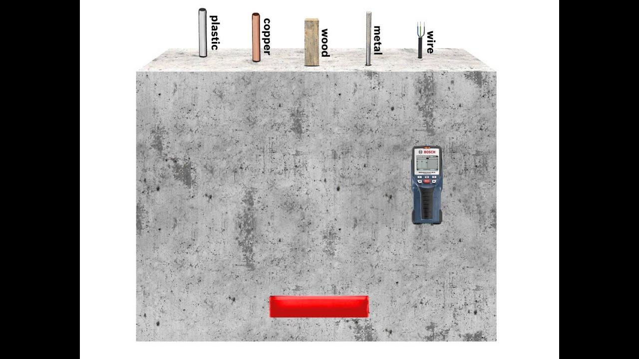 multidetektor bosch wallscanner d-tect 150 sv detector - youtube