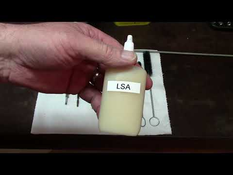 How to clean and lubricate the AR-15 Rifle ~ LSA is still the best!
