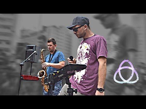 FLOW - Dub Fx and Andy V - Live Performance, Praça Roosevelt - SP part 2