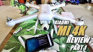 XIAOMI MI Drone 4K Review - Part 1 In-Depth - [Unboxing, Inspection, Setup & UPDATING]