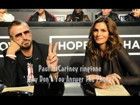 Ringo & Paul McCartney in Ringtones Ad