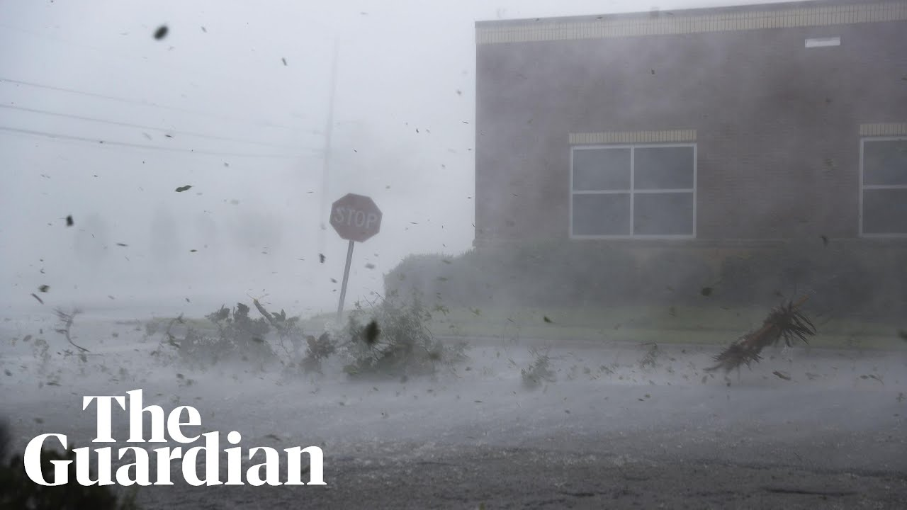 First death reported in Florida as storm hits – as it