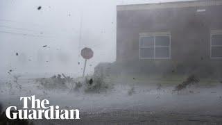 Hurricane Michael pounds Florida thumbnail