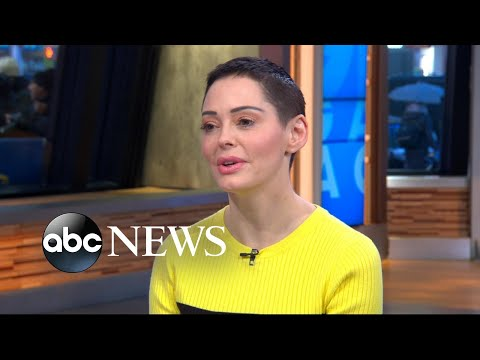 Rose McGowan speaks out on MeToo, sexual abuse in Hollywood