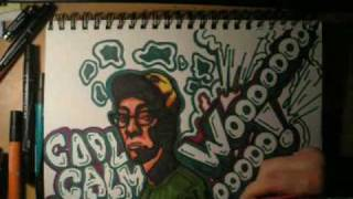 Gambar cover All-Star Rap Battle: graffitigirl8391 vs. TheUnderdocker