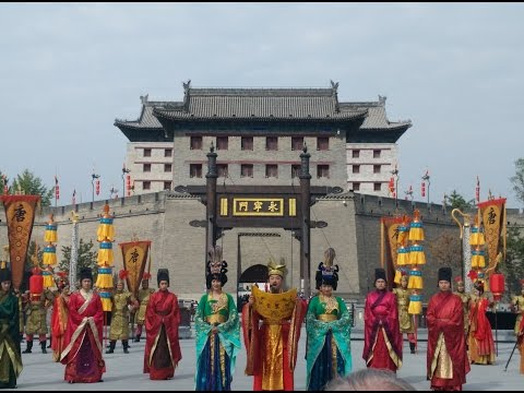 Xian's Inaugural Welcome Ceremony Reenactment - Wendy Wu Tours Telegraph China