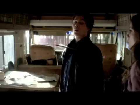 Приколы со съёмок 4 сезона сериала Дневники вампира  русские субтитры