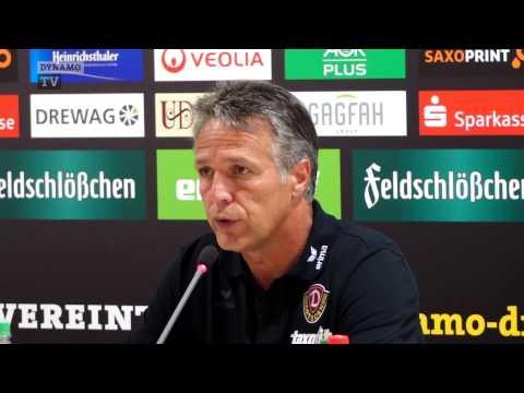 1. Spieltag | SGD - VFB | Pressekonferenz nach dem Spiel