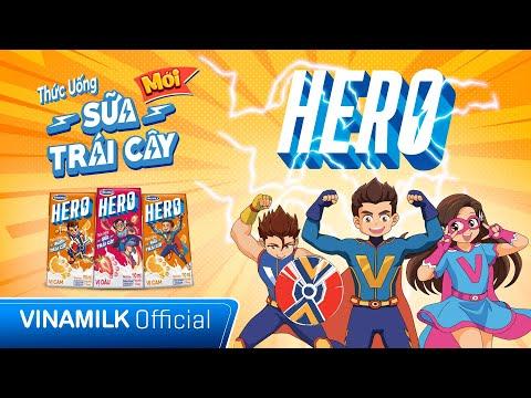 SỮA VINAMILK HERO   NĂNG LƯỢNG MẠNH MẼ - TRẺ LÀM ĐIỀU HAY   MV HOẠT HÌNH HERO   QUẢNG CÁO CHO BÉ