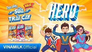 SỮA VINAMILK HERO | NĂNG LƯỢNG MẠNH MẼ - TRẺ LÀM ĐIỀU HAY | MV HOẠT HÌNH HERO