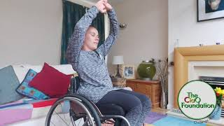 Side Crunches | Wheelchair Fitness Workout | Seated Fitness
