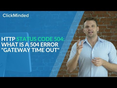 HTTP Status Code 504: What Is a 504 Error