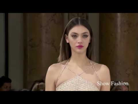 GEORGES HOBEIKA Spring Summer Fashion show 2016   YouTube