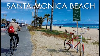 Santa Monica Beach to Marina Del Rey - #Bike Path - Biking, Running, Paddling - #Outdoor