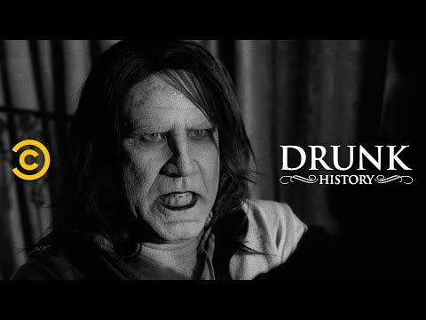 Drunk History of Frankenstein brought to life by Will Ferrell, Seth Rogen and Evan Rachel Wood