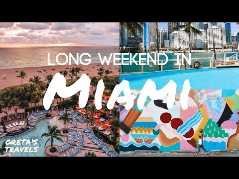 BEST THINGS TO DO IN MIAMI ON A LONG WEEKEND, With VISIT MIAMI And WOW AIR