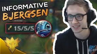Baixar Informative Bjergsen Shows How To CARRY as FIZZ! - League of Legends Stream Highlights