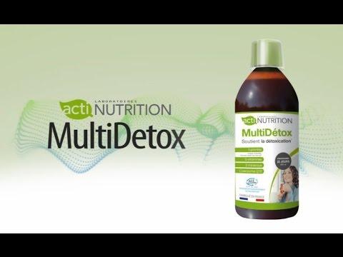 Actinutrition® MultiDetox Buvez, détoxiquez, purifiez