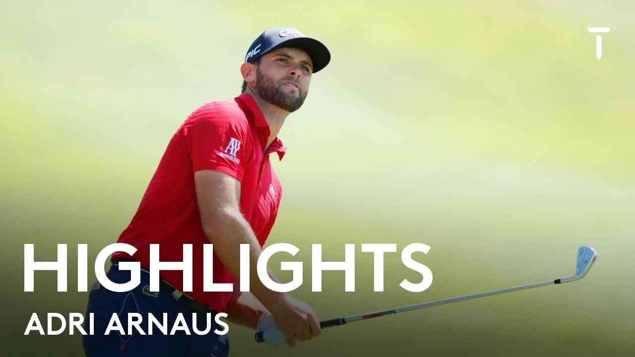 Adri Arnaus hits 4 fairways but still shoots 67 | Round 1 Highlights | 2021 Acciona Open de España