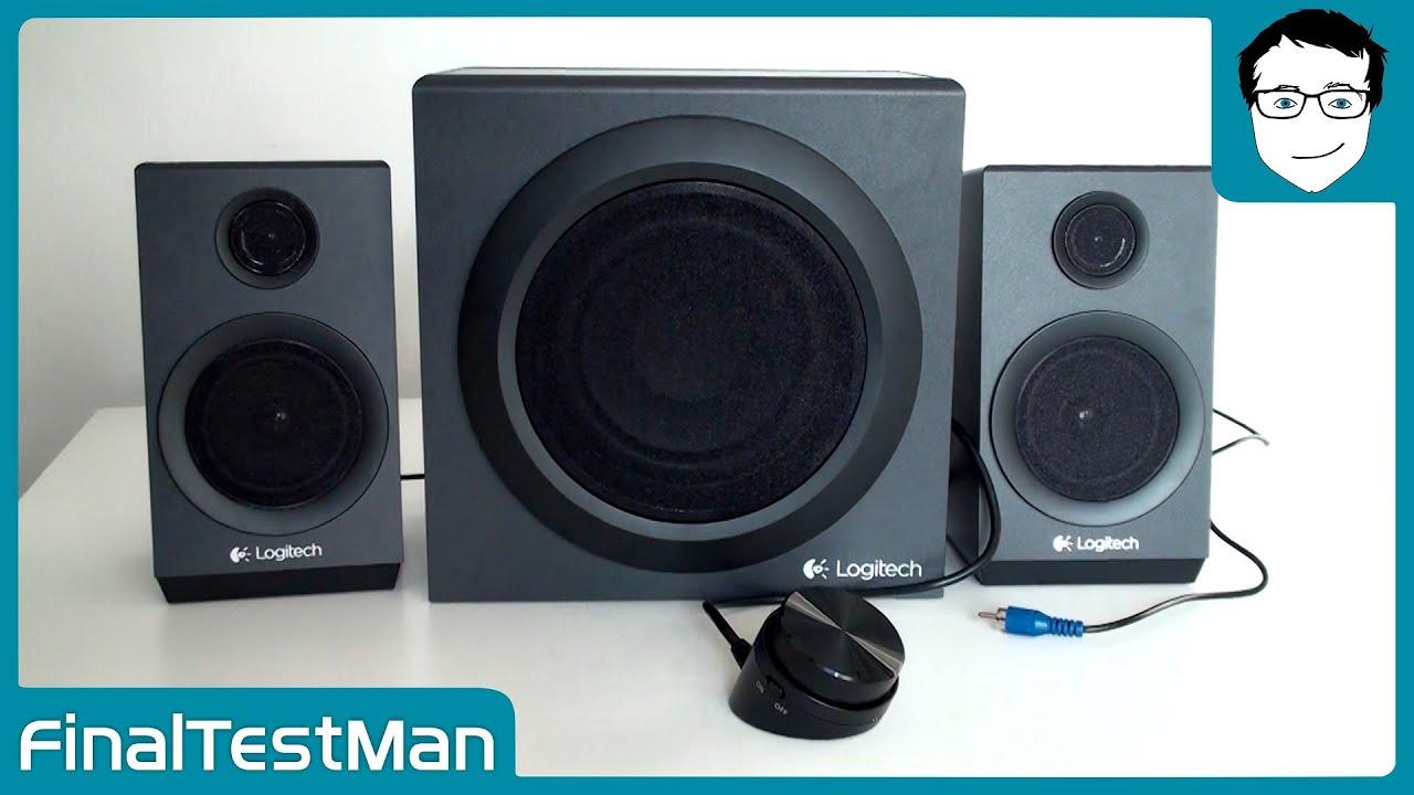 logitech z333 lautsprecher sound test finaltestman youtube. Black Bedroom Furniture Sets. Home Design Ideas