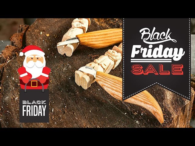Black Friday Deals 2019 I BeaverCraft Wood Carving Tools