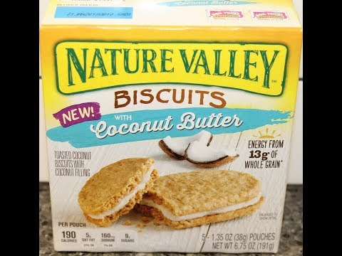 Nature Valley Biscuits with Coconut Butter Review