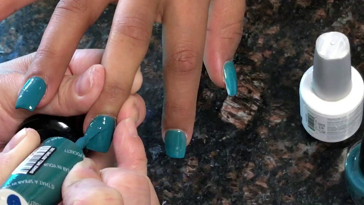 New opi fall gel color so pretty - YouTube