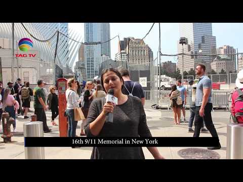 16th Anniversary of 911 Attacks - TAG TV Special Report from New York