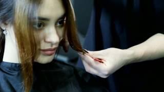 Стрижка и окрашивание на длинных волосах