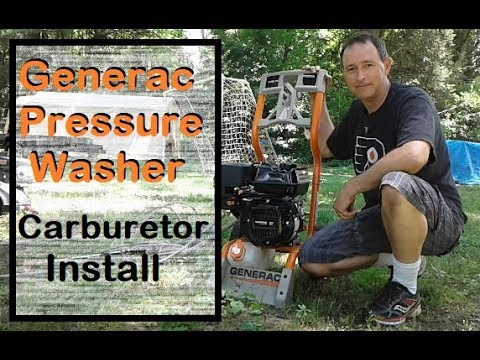 How to Fix a Generac Pressure Washer - Replace a Carburetor