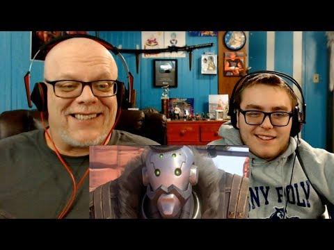 "REACTION VIDEO | ""Overwatch Animated Short: REUNION"" - We Like Bob!"
