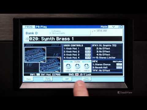 KORG Krome Workstation Synthesizer Instructional Video - English (1 of 2)