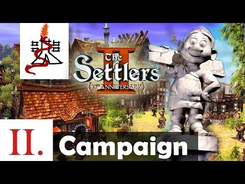 The Settlers 2 (10th Anniversary Edition) - Mission 2 | SPQR | Campaign [1080p/HD]