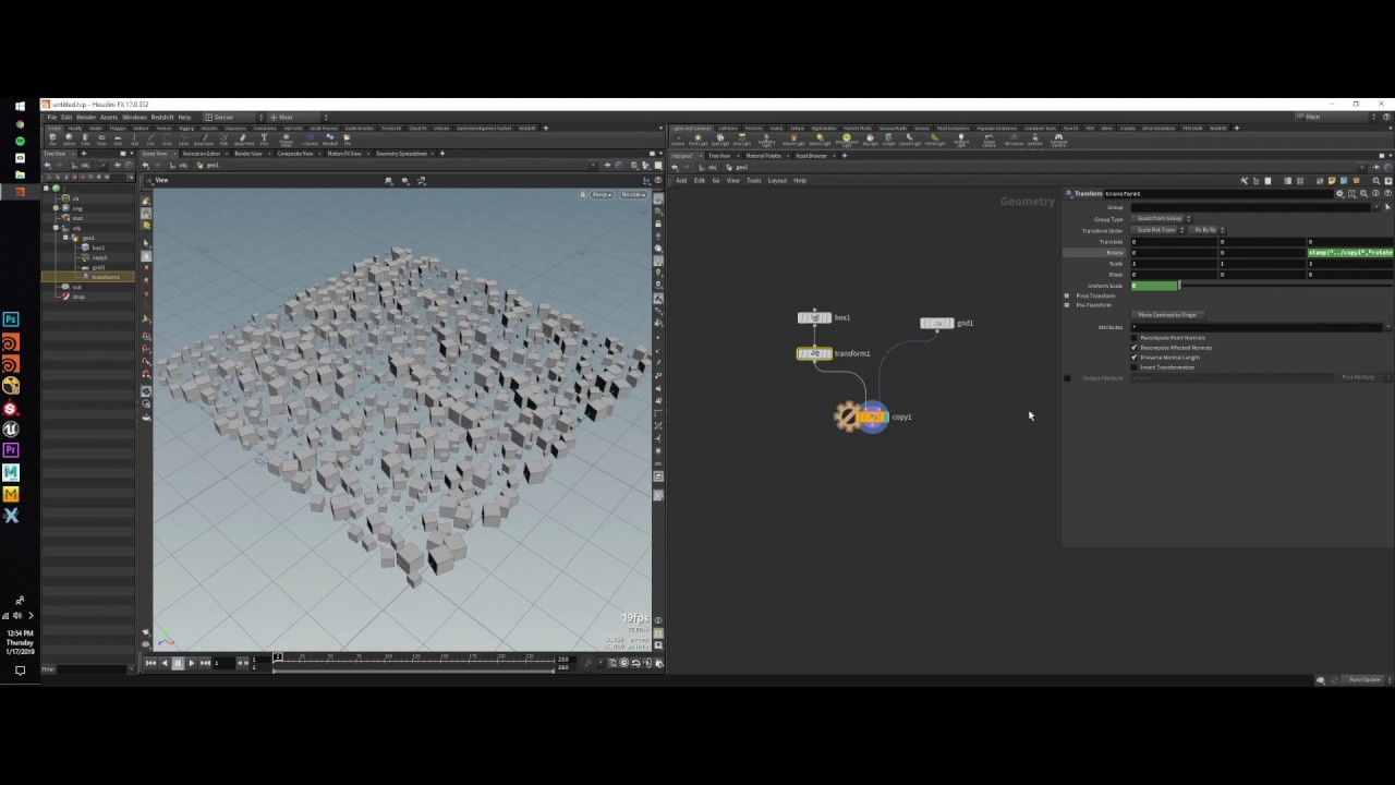 ArtStation - Houdini VEX , Copy Stamp Example (Turkce), Sercan Yasar