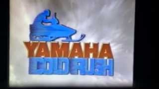 1989 Yamaha snowmobile dealer promo vid